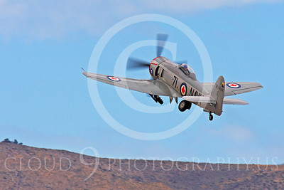Race Airplane Sawbones 00008 Hawker Sea Fury Sawbones at Reno air races by Peter J Mancus