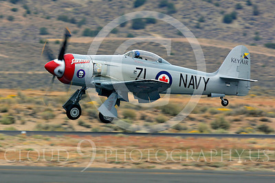 Race Airplane Sawbones 00004 Hawker Sea Fury Sawbones at Reno air races by Peter J Mancus