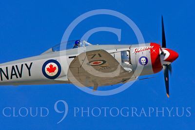 Race Airplane Sawbones 00010 Hawker Sea Fury Sawbones at Reno air races by Peter J Mancus