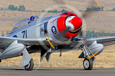 Race Airplane Sawbones 00013 Hawker Sea Fury Sawbones at Reno air races by Peter J Mancus