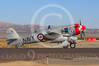 Race Airplane Sawbones 00001 Hawker Sea Fury Sawbones at Reno air races by Peter J Mancus