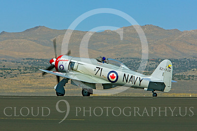 Race Airplane Sawbones 00031 Hawker Sea Fury Sawbones at Reno air races by Peter J Mancus