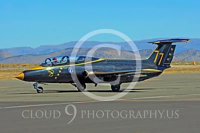 L-29 Delfin Viper 00023 Aero Vodochody L-29 Delfin Aero Enterprises Viper N29AD air racing airplane at Reno air races by Peter J Mancus