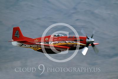 RENO 00126 North American P-51 Dago Red Nellis AFB Nov 2003 by Peter J Mancus