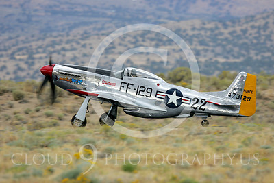 Race Airplane North American P-51 Mustang Merlin's Magic N1515E 00005 Air racing plane North American P-51 Mustang Merlin's Magic N1515E at Reno air races by Peter J Mancus
