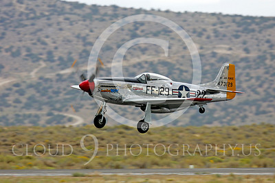 Race Airplane North American P-51 Mustang Merlin's Magic N1515E 00008 Air racing plane North American P-51 Mustang Merlin's Magic N1515E at Reno air races by Peter J Mancus