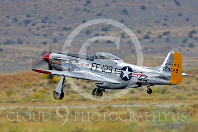 Race Airplane North American P-51 Mustang Merlin's Magic N1515E 00003 Air racing plane North American P-51 Mustang Merlin's Magic N1515E at Reno air races by Peter J Mancus
