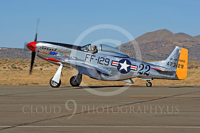 Race Airplane Merlin's Magic 00001 North American P-51 Mustang Merlin's Magic N1515E air racing plane at Reno Air Races by Peter J Mancus
