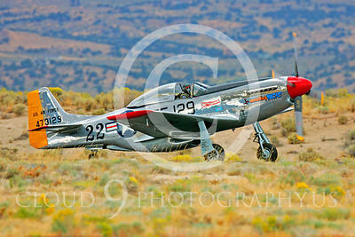 Race Airplane North American P-51 Mustang Merlin's Magic N1515E 00009 Air racing plane North American P-51 Mustang Merlin's Magic N1515E at Reno air races by Peter J Mancus