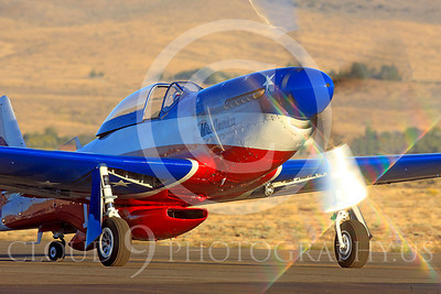 Race Airplane Miss America 00011 North American P-51 Mustang Miss America N991R at Reno air races by Peter J Mancus