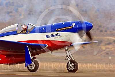 Race Airplane Miss America 00005 North American P-51 Mustang Miss America N991R at Reno air races by Peter J Mancus