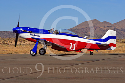 Race Airplane Miss America 00003 North American P-51 Mustang Miss America N991R at Reno air races by Peter J Mancus