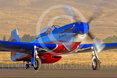 Race Airplane Miss America 00007 North American P-51 Mustang Miss America N991R at Reno air races by Peter J Mancus