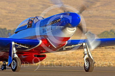 Race Airplane Miss America 00033 North American P-51 Mustang Miss America N991R at Reno air races by Peter J Mancus