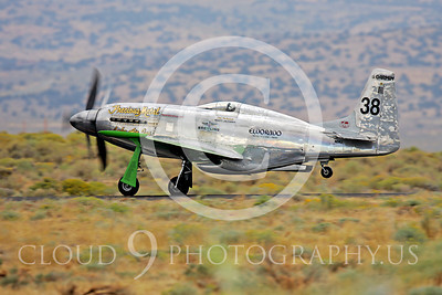 Race Airplane North American P-51 Precious Metal N6WJ 00005 Air racing plane North American P-51 Precious Metal N6WJ at Reno air races by Peter J Mancus