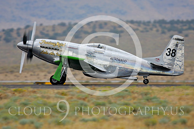 Race Airplane North American P-51 Precious Metal N6WJ 00003 Air racing plane North American P-51 Precious Metal N6WJ at Reno air races by Peter J Mancus