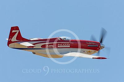 RENO 00006 North American P-51 Mustang Strega by Peter J Mancus