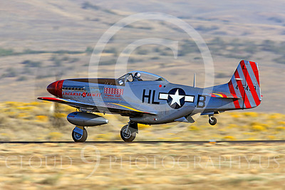 Race Airplane American Beauty 00005 North American P-51 Mustang race airplane American Beauty at Reno air races by Peter J Mancus