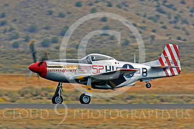 Race Airplane American Beauty 00003 North American P-51 Mustang race airplane American Beauty at Reno air races by Peter J Mancus