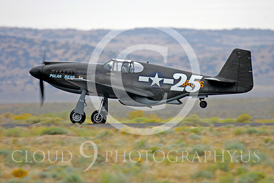 Race Airplane North American P-51 Mustang Polar Bear 00011 Air racing plane North American P-51 Mustang Polar Bear at Reno air races by Peter J Mancus