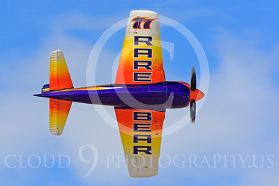 Race Airplane Rare Bear 00010 Grumman F8 Bearcat race airplane Rare Bear N777L at Reno air races by Peter J Mancus