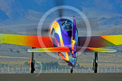 Race Airplane Rare Bear 00011 Grumman F8 Bearcat race airplane Rare Bear N777L at Reno air races by Peter J Mancus