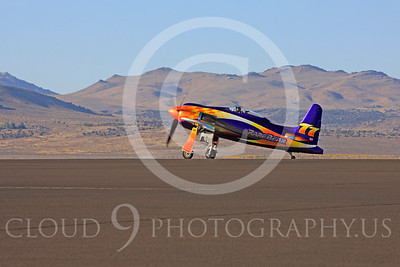 Race Airplane Rare Bear 00039 Grumman F8 Bearcat race airplane Rare Bear N777L at Reno air races by Peter J Mancus