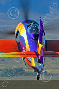 Race Airplane Rare Bear 00021 Grumman F8 Bearcat race airplane Rare Bear N777L at Reno air races by Peter J Mancus