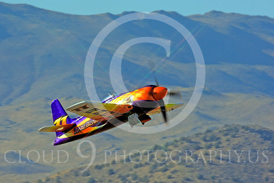 Race Airplane Rare Bear 00018 Grumman F8 Bearcat race airplane Rare Bear N777L at Reno air races by Peter J Mancus