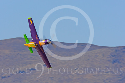 Race Airplane Voodoo 00012 North American P-51 Mustang race airplane Voodoo N551VC at Reno air races by Peter J Mancus