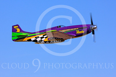 Race Airplane Voodoo 00010 North American P-51 Mustang race airplane Voodoo N551VC at Reno air races by Peter J Mancus