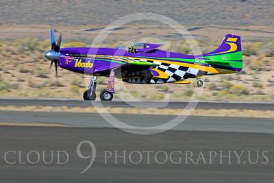 Race Airplane Voodoo 00005 North American P-51 Mustang race airplane Voodoo N551VC at Reno air races by Peter J Mancus