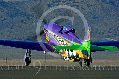 Race Airplane Voodoo 00011 North American P-51 Mustang race airplane Voodoo N551VC at Reno air races by Peter J Mancus