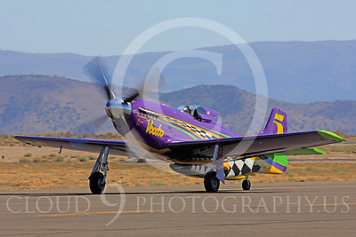 Race Airplane Voodoo 00015 North American P-51 Mustang race airplane Voodoo N551VC at Reno air races by Peter J Mancus