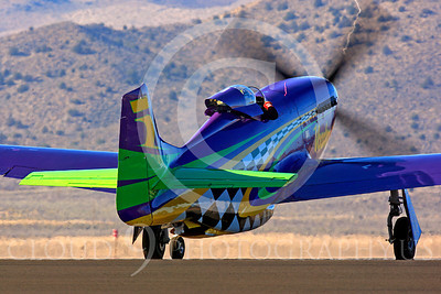 Race Airplane Voodoo 00007 North American P-51 Mustang race airplane Voodoo N551VC at Reno air races by Peter J Mancus