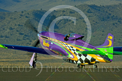 Race Airplane Voodoo 00009 North American P-51 Mustang race airplane Voodoo N551VC at Reno air races by Peter J Mancus