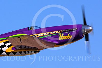 Race Airplane Voodoo 00044 North American P-51 Mustang race airplane Voodoo N551VC at Reno air races by Peter J Mancus