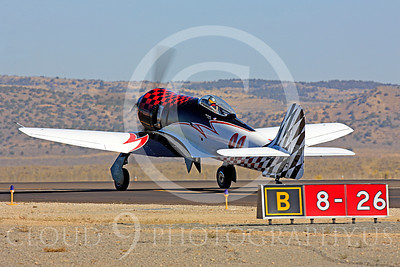 Race Airplane Riff Raff 00017 Hawker Sea Fury race airplane Riff Raff NX62143 at Reno air races by Peter J Mancus