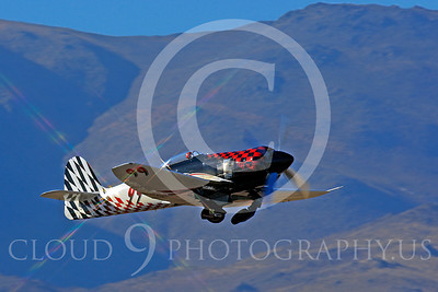 Race Airplane Riff Raff 00012 Hawker Sea Fury race airplane Riff Raff NX62143 at Reno air races by Peter J Mancus