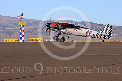 Race Airplane Riff Raff 00003 Hawker Sea Fury race airplane Riff Raff NX62143 at Reno air races by Peter J Mancus