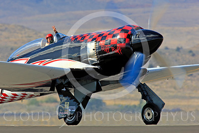 Race Airplane Riff Raff 00007 Hawker Sea Fury race airplane Riff Raff NX62143 at Reno air races by Peter J Mancus