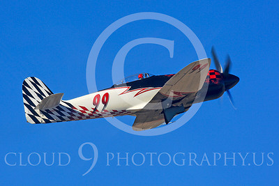 Race Airplane Riff Raff 00006 Hawker Sea Fury race airplane Riff Raff NX62143 at Reno air races by Peter J Mancus