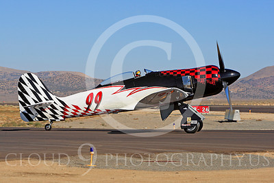 Race Airplane Riff Raff 00001 Hawker Sea Fury race airplane Riff Raff NX62143 at Reno air races by Peter J Mancus