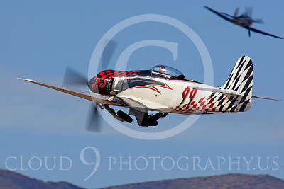Race Airplane Riff Raff 00002 Hawker Sea Fury race airplane Riff Raff NX62143 at Reno air races by Peter J Mancus