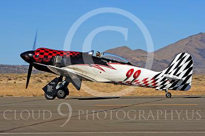 Race Airplane Riff Raff 00013 Hawker Sea Fury race airplane Riff Raff NX62143 at Reno air races by Peter J Mancus