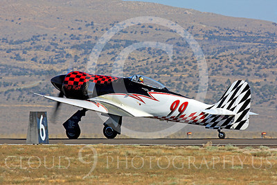 Race Airplane Riff Raff 00009 Hawker Sea Fury race airplane Riff Raff NX62143 at Reno air races by Peter J Mancus