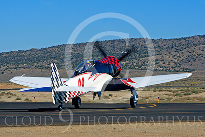 Race Airplane Riff Raff 00033 Hawker Sea Fury race airplane Riff Raff NX62143 at Reno air races by Peter J Mancus