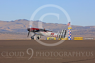 Race Airplane Riff Raff 00045 Hawker Sea Fury race airplane Riff Raff NX62143 at Reno air races by Peter J Mancus