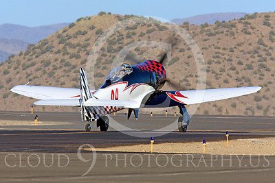 Race Airplane Riff Raff 00011 Hawker Sea Fury race airplane Riff Raff NX62143 at Reno air races by Peter J Mancus