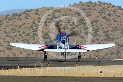 Race Airplane Riff Raff 00073 Hawker Sea Fury race airplane Riff Raff NX62143 at Reno air races by Peter J Mancus